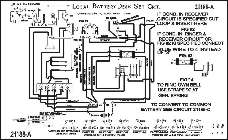 kellogg telephone phone jack wiring diagram telephone phone line wiring diagram #2