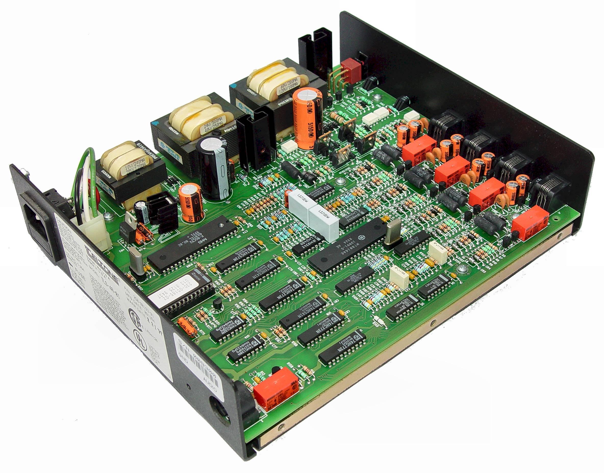 Telephone Line Simulator Circuit Music On Hold Angle Shot Of Insides Camera