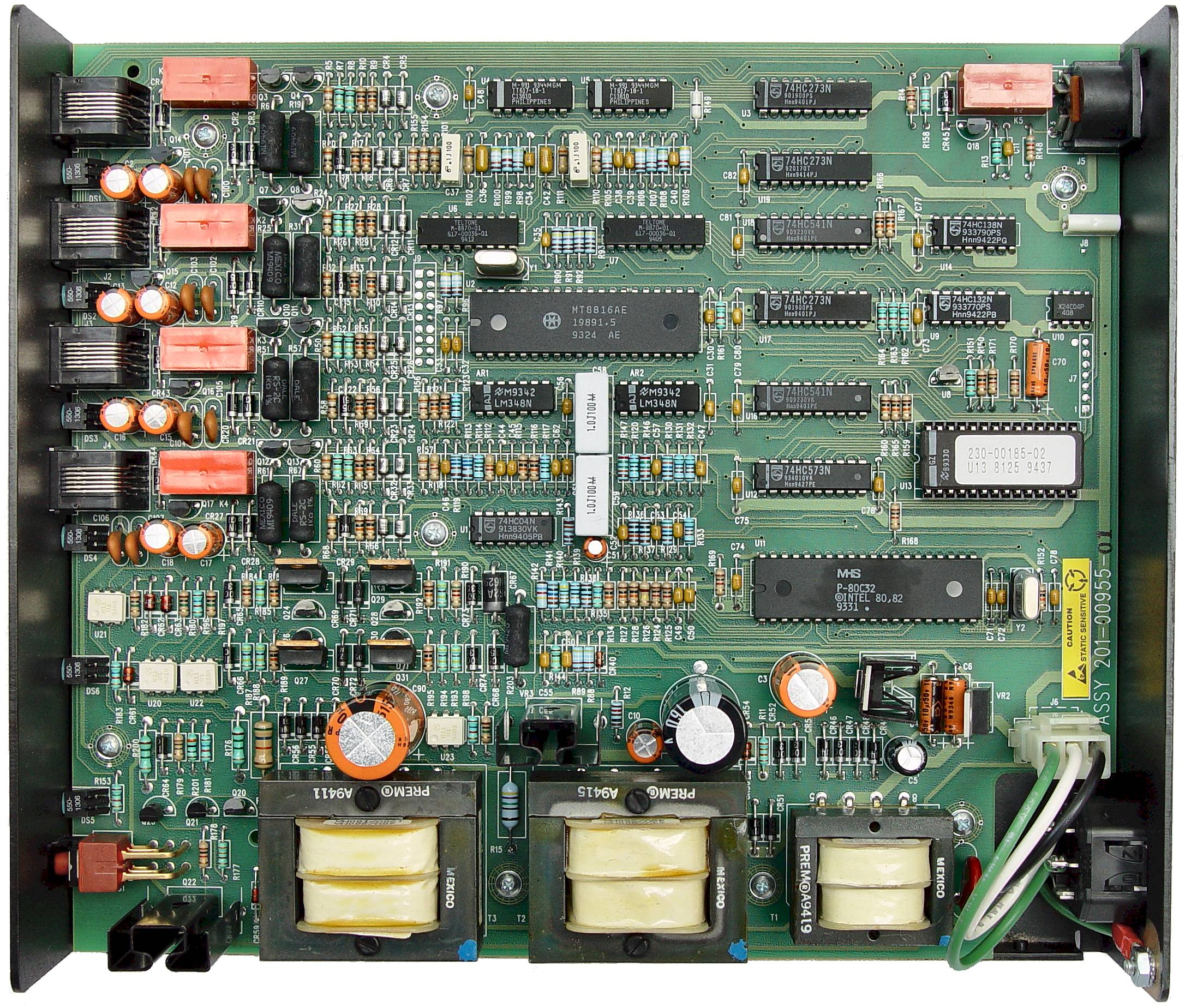 Telephone Line Simulator Free Circuit Simulatorcircuit Design And Simulation Software List Overall View Of Printed Board